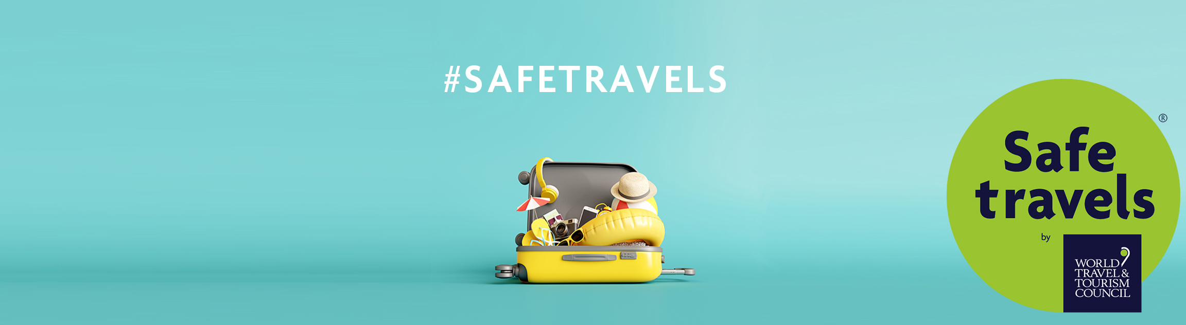 SafeTravels with R stamp